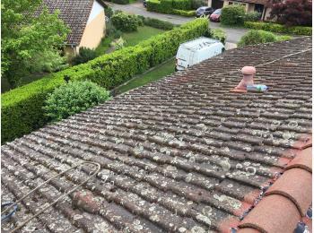 nettoyage haute pression tuile toiture Gaty Traitements Isolation Rhône-Alpes